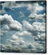 My Sky Your Sky  Acrylic Print by JC Photography and Art