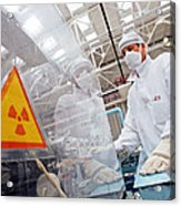Nuclear Fuel Assembly, Russia Acrylic Print by Ria Novosti