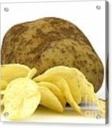 Potato Chips Acrylic Print by Blink Images