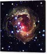 Radiation From A Stellar Burst Acrylic Print by ESA and nASA