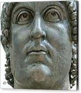 Rome Italy. Capitoline Museums Emperor Marco Aurelio Acrylic Print by Bernard Jaubert