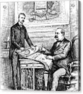 Roosevelt Cartoon, 1884 Acrylic Print by Granger