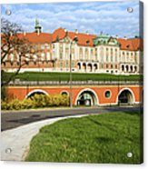 Royal Castle In Warsaw Acrylic Print by Artur Bogacki