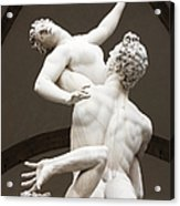 Sculpture Acrylic Print by Jeremy Woodhouse