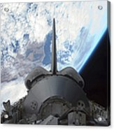 Space Shuttle Endeavours Payload Bay Acrylic Print by Stocktrek Images