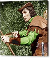 The Adventures Of Robin Hood, Errol Acrylic Print by Everett