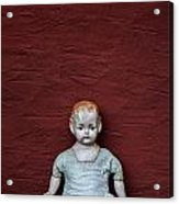 The Doll Acrylic Print by Joana Kruse