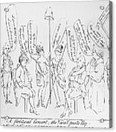 `treaty Of Paris, 1783 Acrylic Print by Granger