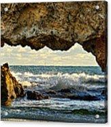 Two Rocks Wa Acrylic Print by Imagevixen Photography