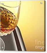 Whiskey In Stem Glass Acrylic Print by Blink Images