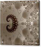 Fractal Reflection Acrylic Print by Odon Czintos