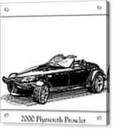 2000 Plymouth Prowler Acrylic Print by Jack Pumphrey