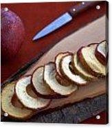Apple Chips Acrylic Print by Joana Kruse