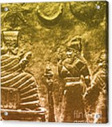 Babylonian Boundary Stone Acrylic Print by Science Source