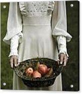 Basket With Fruits Acrylic Print by Joana Kruse