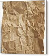Brown Paper Acrylic Print by Blink Images