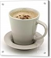 Cappuccino Coffee  Acrylic Print by Blink Images