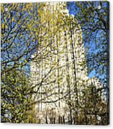 Cathedral Of Learning Acrylic Print by Thomas R Fletcher