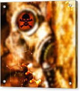 Chemical Warfare Acrylic Print by Mehau Kulyk
