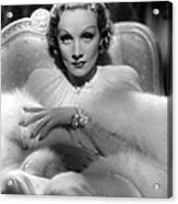 Desire, Marlene Dietrich, 1936 Acrylic Print by Everett
