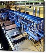 Electricity Substation Acrylic Print by Ria Novosti