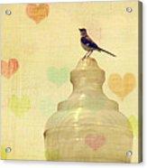 Heartsong Acrylic Print by Amy Tyler