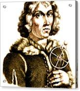 Nicolaus Copernicus, Polish Astronomer Acrylic Print by Science Source