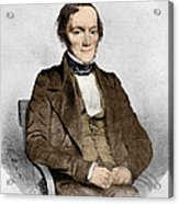 Richard Owen, English Paleontologist Acrylic Print by Science Source