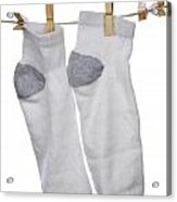 Socks Acrylic Print by Blink Images