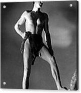 Tarzan And His Mate, Johnny Acrylic Print by Everett