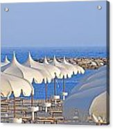 Umbrellas In The Sun Acrylic Print by Joana Kruse