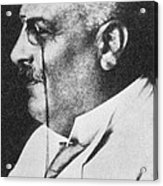 Alois Alzheimer, German Neuropathologist Acrylic Print by Science Source