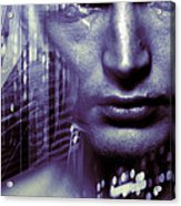 Artificial Intelligence Acrylic Print by Coneyl Jay