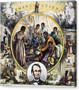 Emancipation Proclamation Acrylic Print by Granger