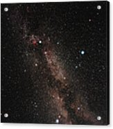 Milky Way Acrylic Print by Eckhard Slawik