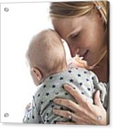 Mother And Baby Acrylic Print by Ruth Jenkinson