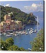 Portofino Acrylic Print by Joana Kruse