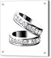 The Beauty Wedding Ring Acrylic Print by Rattanapon Muanpimthong