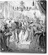 Perrault: Cinderella, 1867 Acrylic Print by Granger