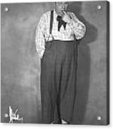Roscoe Fatty Arbuckle Acrylic Print by Granger