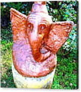 Lord Ganesha Acrylic Print by Anand Swaroop Manchiraju