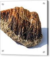 Rock From Meteorite Impact Crater Acrylic Print by Detlev Van Ravenswaay