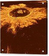 Venus, Synthetic Aperture Radar Map Acrylic Print by Detlev Van Ravenswaay
