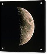 Waxing Crescent Moon Acrylic Print by Eckhard Slawik