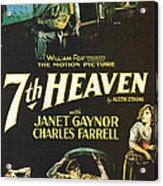 7th Heaven Acrylic Print by Georgia Fowler