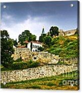 Kalemegdan Fortress In Belgrade Acrylic Print by Elena Elisseeva