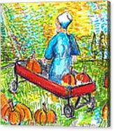 A Child's Joy  Acrylic Print by Jon Baldwin  Art