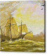 A Day At Sea Acrylic Print by Cheryl Young