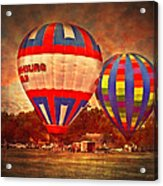A Day At The Rally Acrylic Print by Kathy Jennings