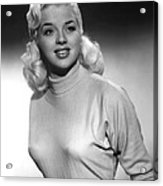 A Kid For Two Farthings, Diana Dors Acrylic Print by Everett